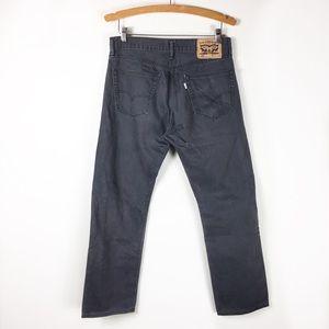 Levi's Dark Gray 505 Jeans size 31x30